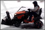 How to Install a Snow Blower Attachment on a Riding Mower