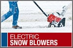 Top-Rated & Best-Selling Electric Snowblowers