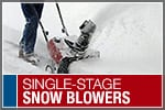 Top-Rated & Best-Selling Single-Stage Snowblowers