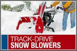 Top-Rated & Best-Selling Track-Driven Snowblowers
