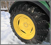 Lawn Tractor Tire Chain Sizing