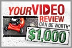 How To Submit Snowblower Video Reviews
