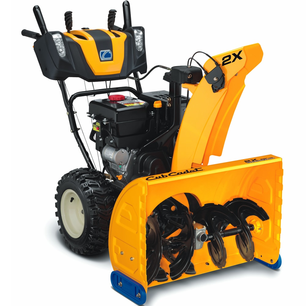 Entry-level two stage snow blower