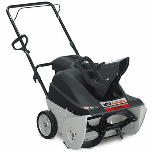 "MTD Gold (21"") 179cc Electric Start Single-Stage Snow Blower"