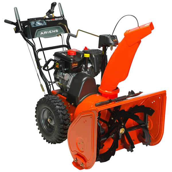 Mid-grade two stage snow blower