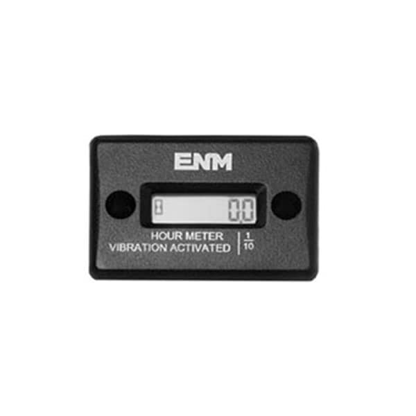 ENM LCD Vibration Activated, Magnet Mounted Hour Meter