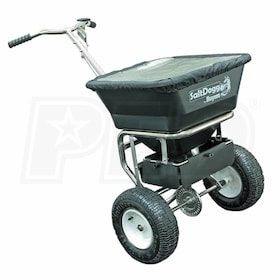 SaltDogg 100 LB. Stainless Steel Push Broadcast Spreader