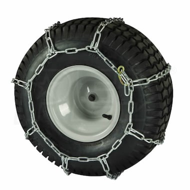 "Peerless 18"" x 9.5"" Lawn Tractor Tire Chains"