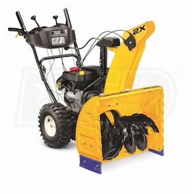 "Cub Cadet 2X (24"") 208cc Two-Stage Snow Blower"