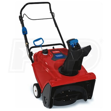 "Toro Power Clear 721 QZE (21"") 212cc 4-Cycle Single Stage Snow Blower w/ Electric Start, Zip & Quick Shoot"