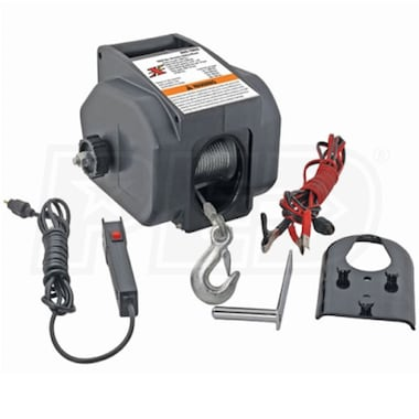 Pro Lift 6,000/2,000LB Electric Winch