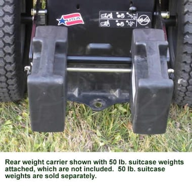 Snapper/Simplicity Rear Weight Carrier For Lawn Tractors