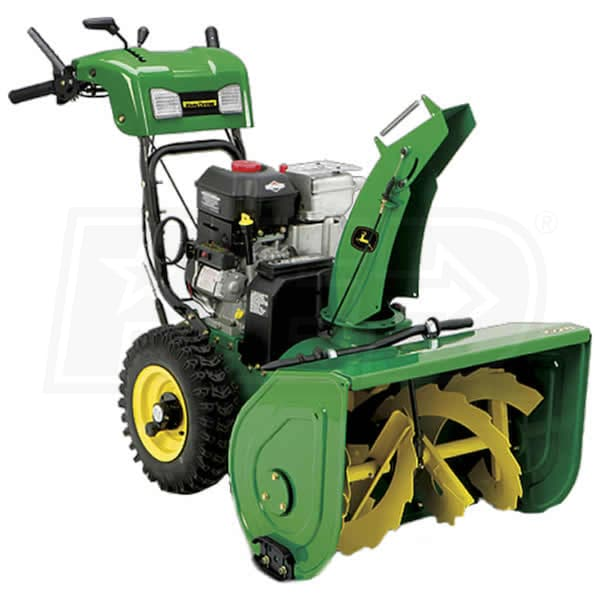 Atv Snow Blower Kits : John deere e quot cc two stage