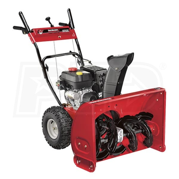 Atv Snow Blower Kits : Mtd yard machines ah eg quot cc two stage snow