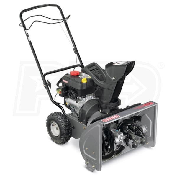 Atv Snow Blower Kits : Craftsman quot cc two stage snow blower w