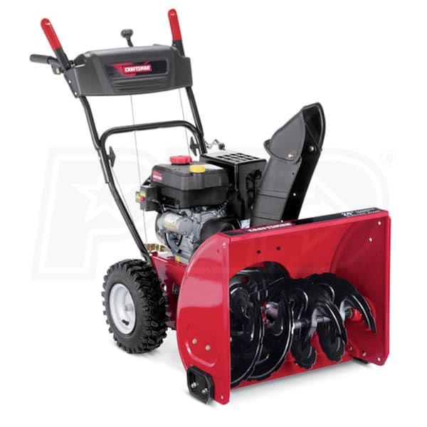 Atv Snow Blower Kits : Craftsman quot cc two stage snow blower