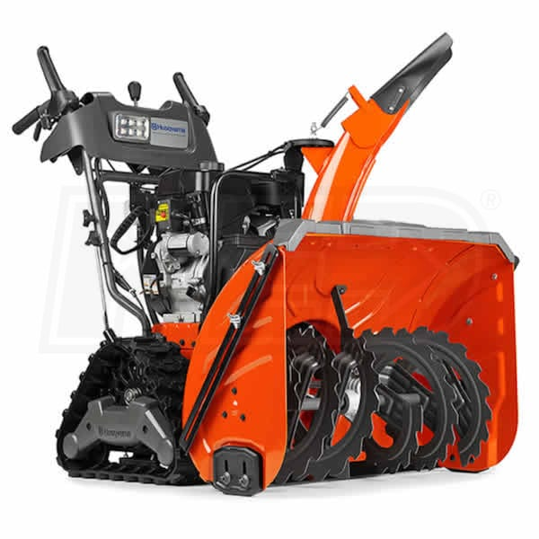 Atv Snow Blower Kits : Husqvarna  st t quot cc two stage track