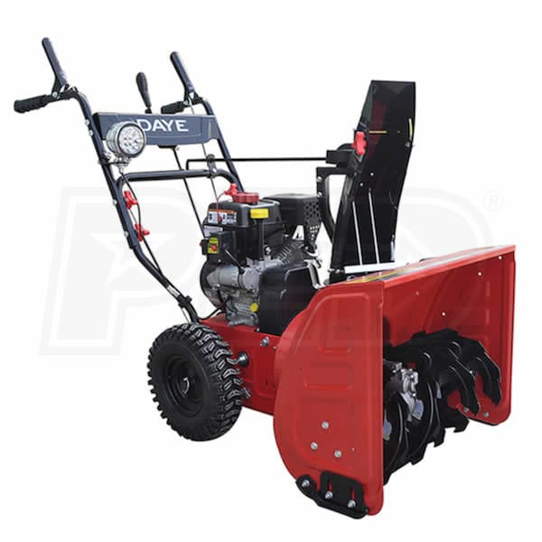 Atv Snow Blower Kits : Daye ds e quot cc two stage snow blower