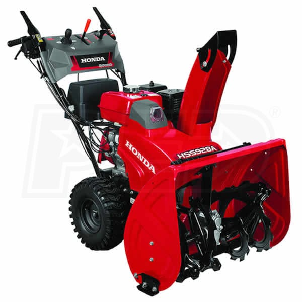 Atv Snow Blower Kits : Honda hss aawd a quot cc two stage snow blower w