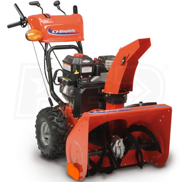 Atv Snow Blower Kits : Simplicity i e quot cc two stage snow blower