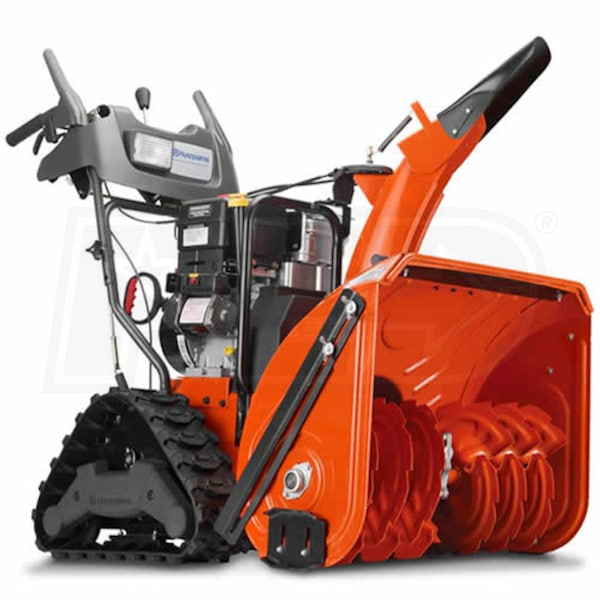 Atv Snow Blower Kits : Husqvarna exlt quot cc crown series two